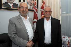 Les deux points de presse tenus séparément par Houcine Abassi et Rached Ghannouchi
