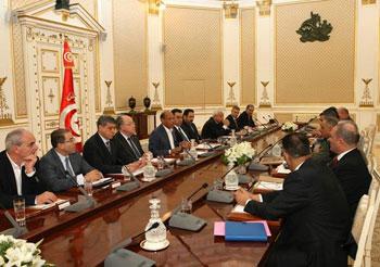 Le Conseil national de a sécurité s'est réuni