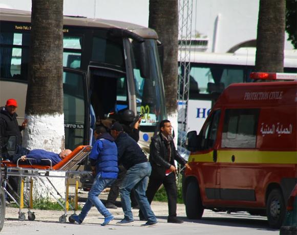 21 blessés ont été admis