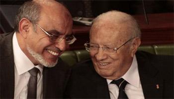 Dans l'enregistrement d'une conversation à bâtons rompus entre Béji Caïd Essebsi et Hamadi Jebali ayant eu lieu voilà un an