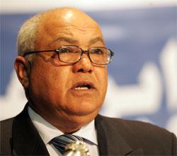 Le secrétaire général du parti AL Maçar