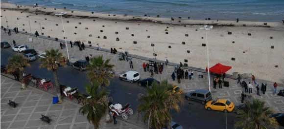 La plage de Boujafaâr