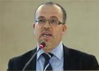 Le ministre des Droits de l'Homme et de la Justice Transitoire