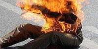 Un jeune s'est immole par le feu