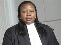 La procureure générale de la Cour Pénale Internationale(CPI)
