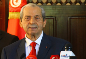Le président de l'Assemblée des représentants du Peuple
