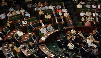 Le bureau de l'Assemblée nationale constituante (ANC)