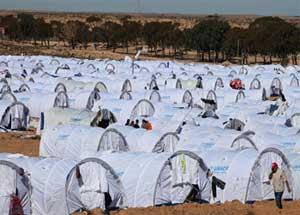Les départs des réfugiés du camp de Choucha ont repris le 23 janvier avec le départ de 8 réfugiés en direction