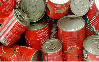 La boîte de format moyen de concentré de tomate est vendu plus cher depuis la libéralisation de son prix
