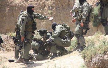 Les forces de l'armée nationale ont tiré sur des cibles suspectes détectées auparavant