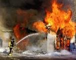 Un important incendie s'est déclenché au