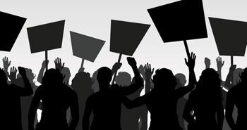 Une marche de protestation a parcouru
