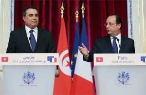 Au second jour de sa visite officielle en France