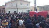 Alors qu'il se rendait dans la ville de Thala dans le gouvernorat de Kasserine en Tunisie