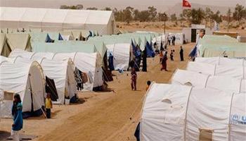 En signe de protestation suite à la fermeture du camp Choucha sur décision du Haut comité pour les réfugiés( HCR)
