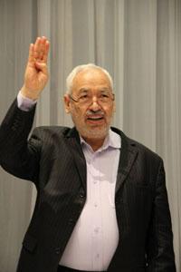 le leader du mouvement Ennahdha