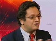 L'écrivain et chercheur dans les sciences politiques et directeur du Centre Arabe de Recherches et d'Analyses (CARA) basé à Genève