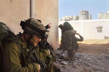 Engagée depuis plus de vingt jours d'opération militaire dans la bande