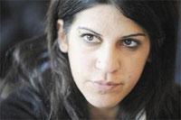 La bloggeuse et activiste Lina Ben Mhenni a été placée sous surveillance policière