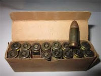 50 cartouches de calibre 9 mm ont été saisies par les services des Douanes de l'aéroport international de Sfax-Thyna