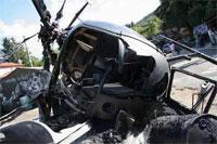 Un hélicoptère de l'armée tunisienne a effectué