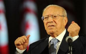 Le président de Nidaa Tounes