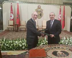 Le groupe Attijariwafa bank a signé avec la Compagnie Arabe pour la Garantie des Investissements et les Crédits à l'Exportation