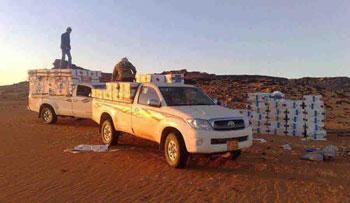 Les forces de la garde nationale de Sidi Bouzid ont saisi 1500 litres de gasoil de contrebande