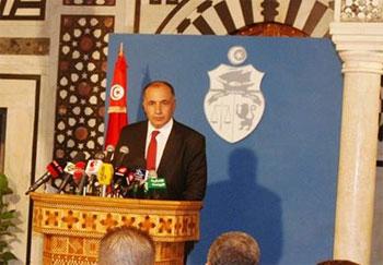 Intervenant lors cours d'une conférence de presse tenue jeudi 5 septembre 2013