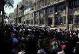 Le rassemblement organisé actuellement devant le ministère de l'Intérieur