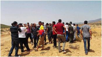 Les habitants de Kasserine se sont rendus jeudi 06 juin 2013