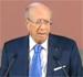 L'ex-premier ministre Béji Caïed Essebsi est arrivé