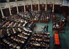 Lors de la séance plénière de l'Assemblée nationale constituante (ANC )consacrée