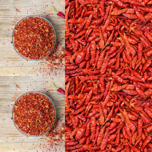 Red Chilli Crushed 100g