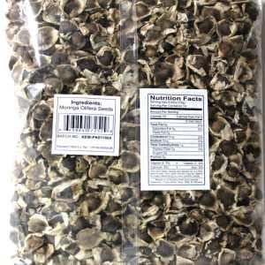 Organic Moringa Seeds (200g)