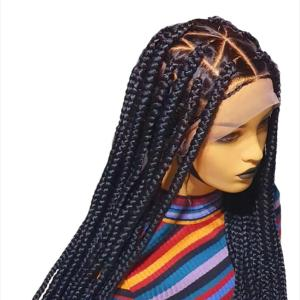 Knotless Braided Wig (20-24 inches)