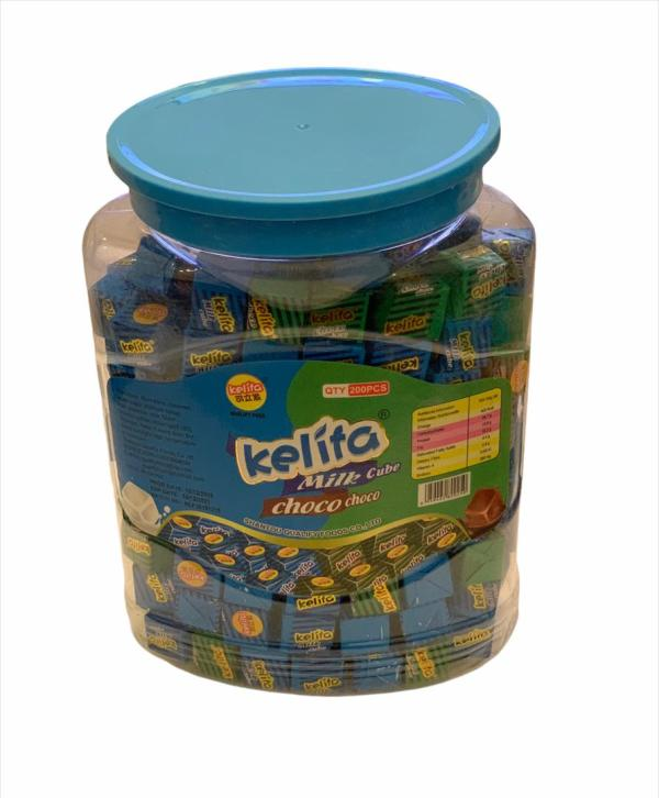 Kelita Milk Cube Choco Choco 200pcs