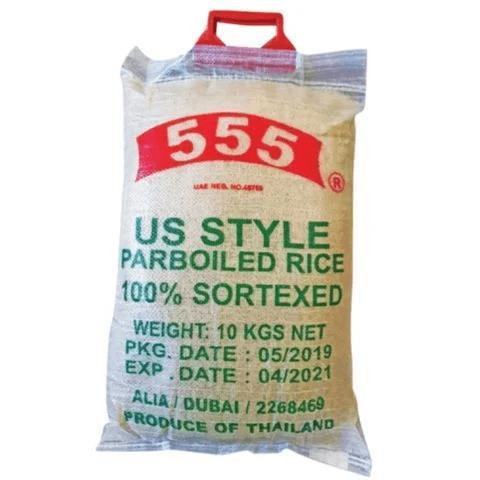 555 US Style Parboiled Rice 10kg