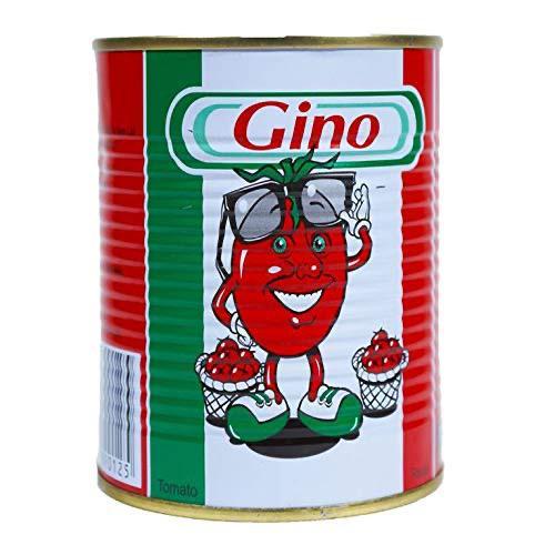 Gino Tin Tomato Paste Tin 400g