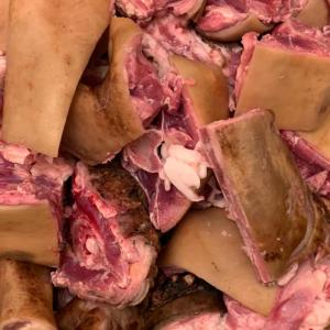 Full Live African Goat Meat With Skin 20kg - 22kg