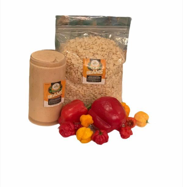 Beans Purée Plain 100% For Moi Moi/ Akara 1 Litre