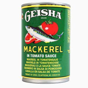 Geisha Mackerel in Tomato Sauce – 155g