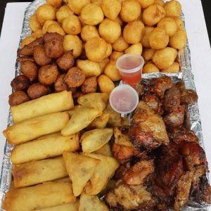 Full small chops platter