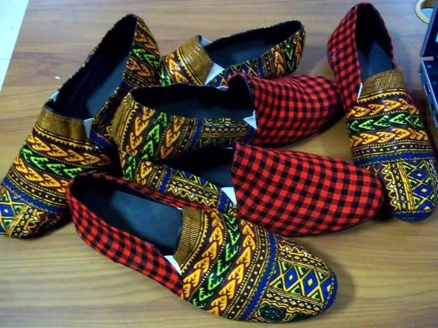 Ankara Shoes 13