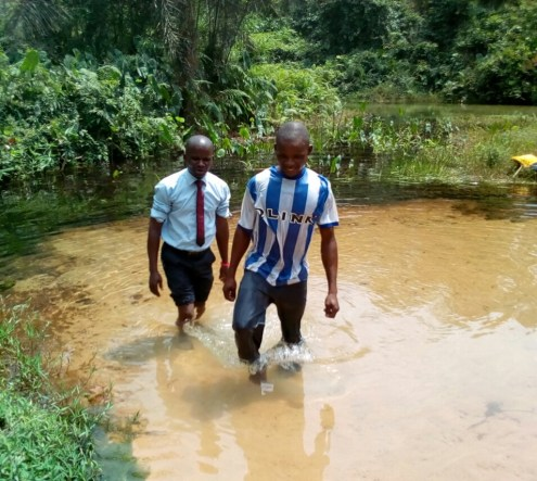 Godknows Ime coming out of water grave