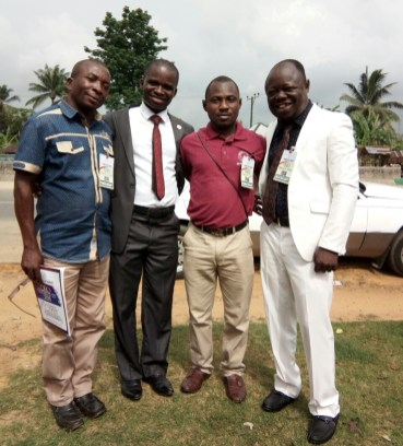 WBS Team Leaders for Abuja, Ogoja, Ukanafun & Mike at Oron