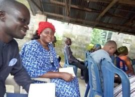 Worship service at Church of Christ, Ikot Ideh