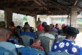 Worshipers at Church of Christ, Ikot Ideh