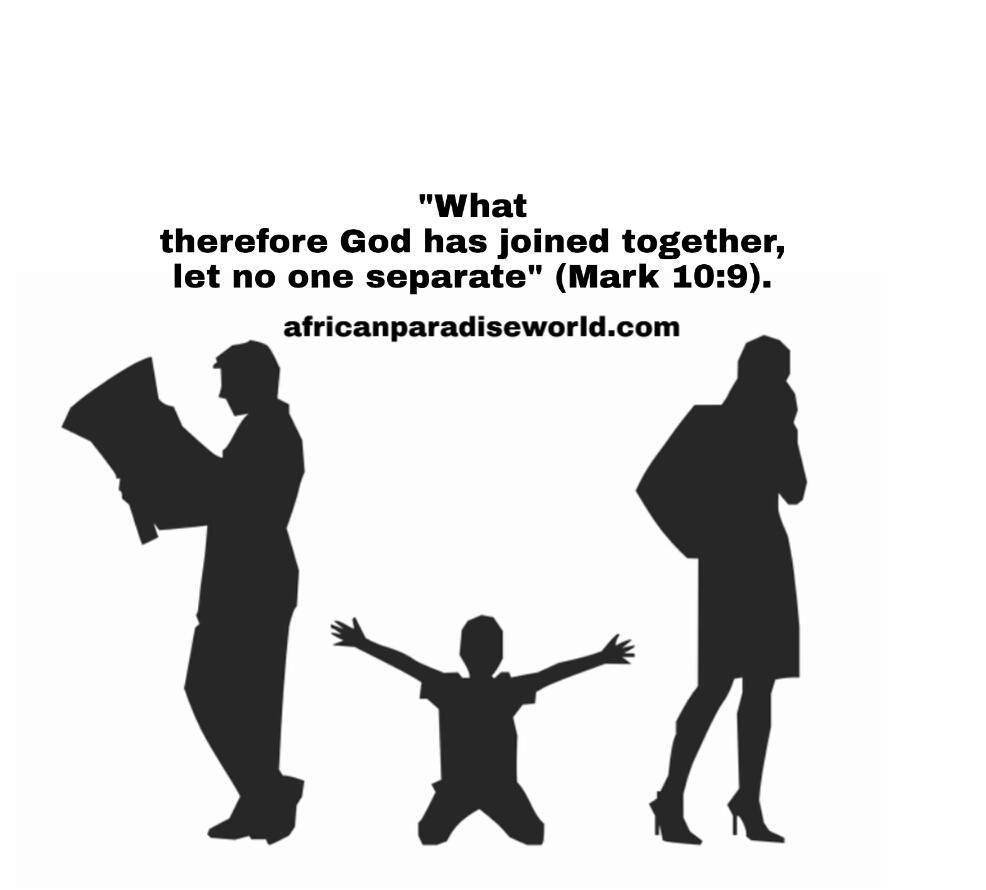 Marriage divorce Bible verse