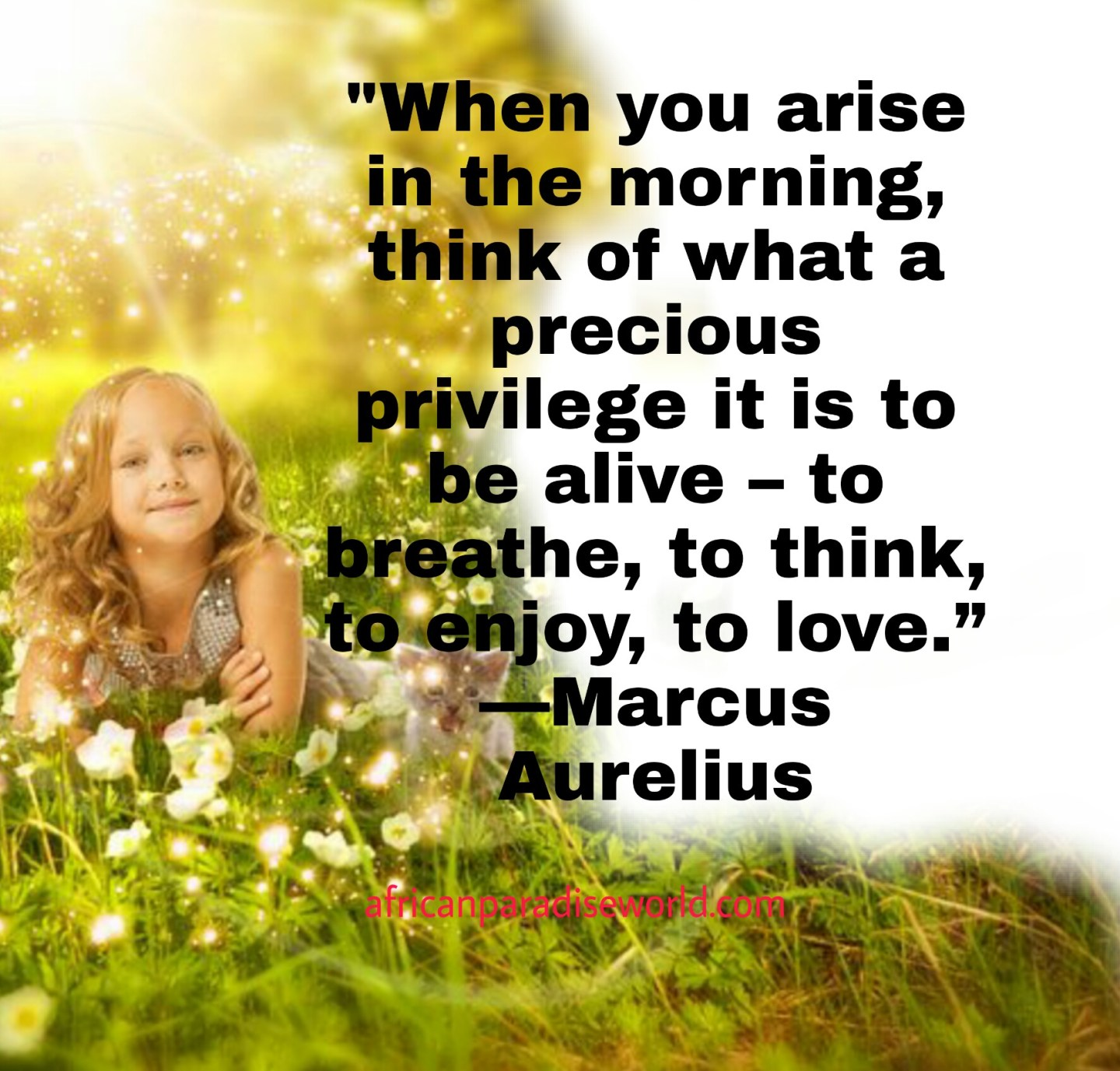 Think positive quote